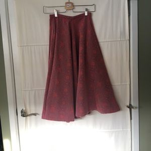 Woman's H&M Midi Skirt Vintage